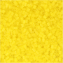 Creativ Company 687780, Glass, Yellow, Seed bead