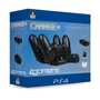 4Gamers 4G-4391BLK, Charge kit, PlayStation 4, Black, Sony, Wired, Box