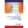 Information technology on human resource management functions (HRIS)