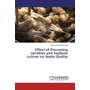 Effect of Processing variables and Soybean cultivar on Natto Quality
