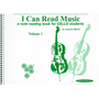 I Can Read Music, Volume 1 - A note reading book for CELLO students