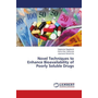 Novel Techniques to Enhance Bioavailability of Poorly Soluble Drugs