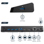 StarTech.com USB 3.0 Docking Station Dual Monitor with HDMI & 4K DisplayPort - USB 3.0 to 4x USB-A, Ethernet, HDMI and DP - USB Type A Universal Laptop Docking Station for Mac & Windows, Wired, USB 3.2 Gen 1 (3.1 Gen 1) Type-B, 3.5 mm, USB Type-A, 10,100,1000 Mbit/s, IEEE 802.3,IEEE 802.3ab,IEEE 802.3u