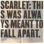 This Was Always Meant to Fall Apart